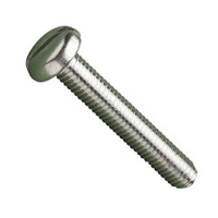 Slotted Pan Head Machine Screws